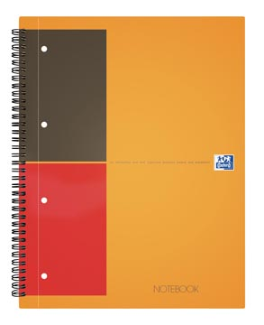 Oxford INTERNATIONAL Notebook, 160 bladzijden, ft A4+, gelijnd