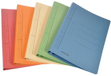 Class'ex hechtmap, ft 25 x 32 cm (voor ft A4), geassorteerde kleuren