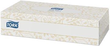 Tork tissues voor gezicht, 2-laags, 100 tissues per doosje