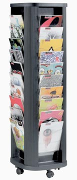 Paperflow Mobiele folderhouder Carrousel