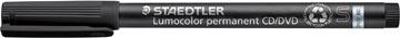 Staedtler Lumocolor CD/DVD/BD-marker zwart