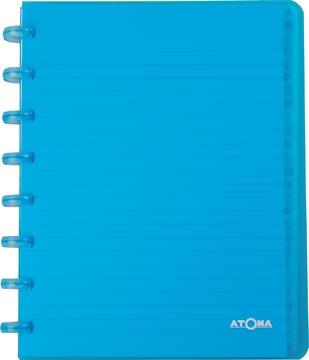 Atoma repertorium, ft A5, transparant, gelijnd