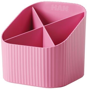 Han Re-X-Loop pennenbakje, roze