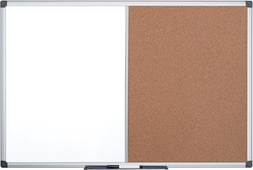 Pergamy combibord, kurk en magnetisch whiteboard, ft 60 x 90 cm