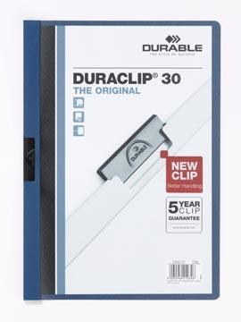 Durable klemmap Duraclip Original 30 donkerblauw