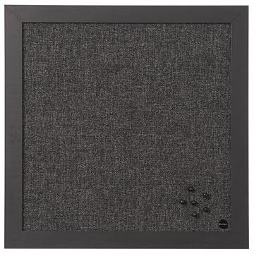 Bisilque Notitiebord Black Shadow donkergrijs