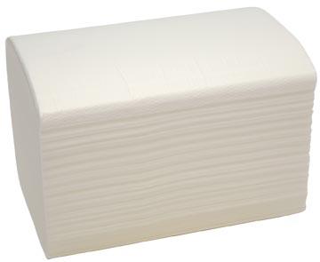 Bulkysoft servettten 2-laags, wit, pak van 200 servetten