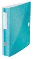 Leitz WOW ordner Active rug van 6,5 cm, ijsblauw,