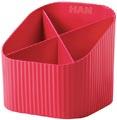 Han Re-X-Loop pennenbakje, rood